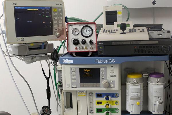 横浜 金沢区の動物病院 マーサ動物病院 医療設備 麻酔器システム