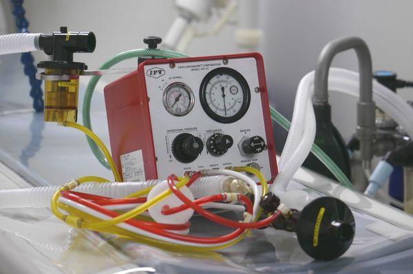 横浜 金沢区の動物病院 マーサ動物病院 医療設備 IPV肺内パーカッションベンチレーター