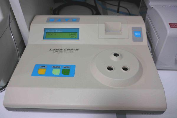 横浜 金沢区の動物病院 マーサ動物病院 医療設備 CRP測定器