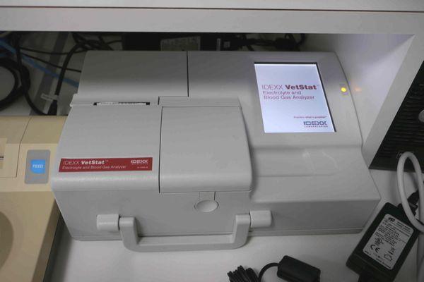 横浜 金沢区の動物病院 マーサ動物病院 医療設備 血液ガス・電解質測定器