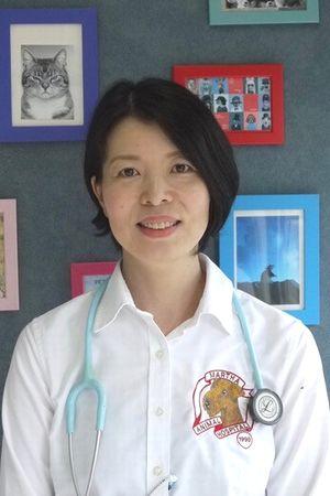 横浜金沢区の動物病院 マーサ動物病院獣医師 平野晴美